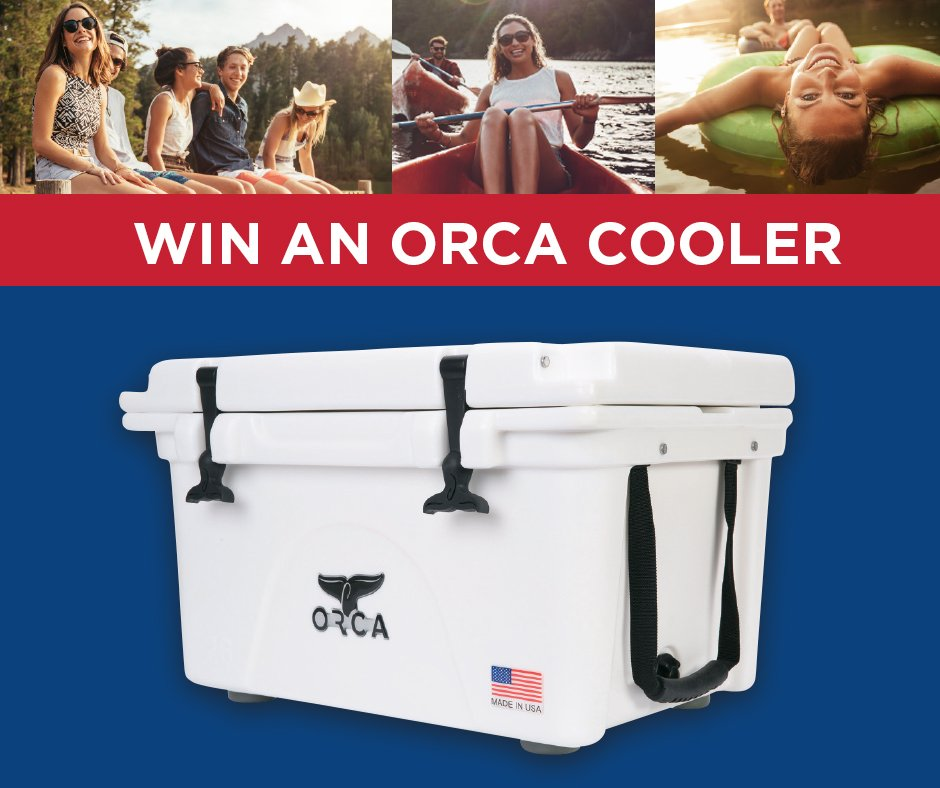 Are you a weekend warrior? RT for a chance to win 1 ultimate 26 Qt. @orcacoolers for your next adventure! U.S. Only https://t.co/l2VTAdFPrs
