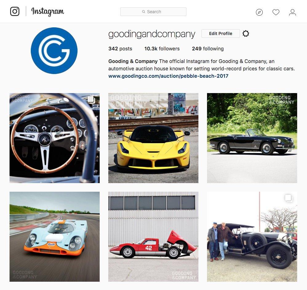 Gooding  Company goodingandco  Twitter