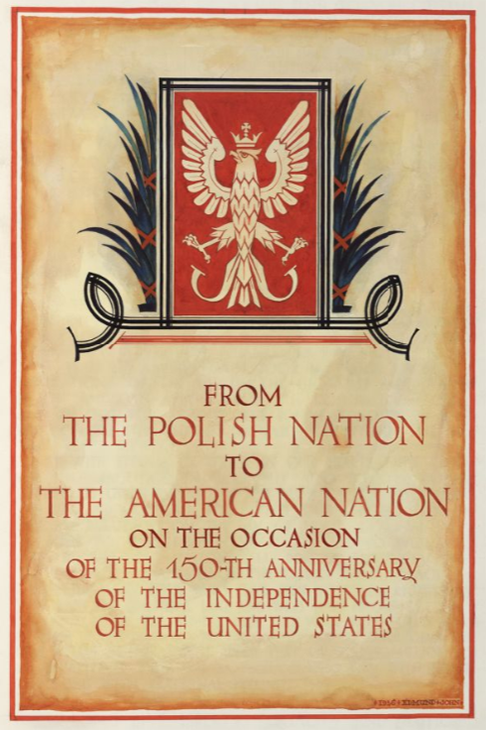 Poland sent a remarkable 30K-page greeting to the US on its 150th birthday 1926. Now see it online @PolishEmbassyUS https://t.co/zKNEopTneU https://t.co/gV6wXyfE0P