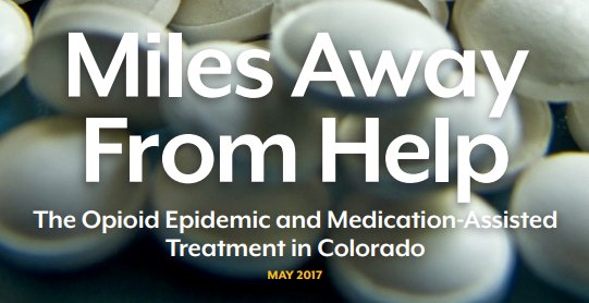 #ResearchSpotlight Check out Colorado Health Institute&#39;s report on the opioid epidemic in CO via @COHealthInst  http:// buff.ly/2sljxC1  &nbsp;  <br>http://pic.twitter.com/s8a6q5LIkk