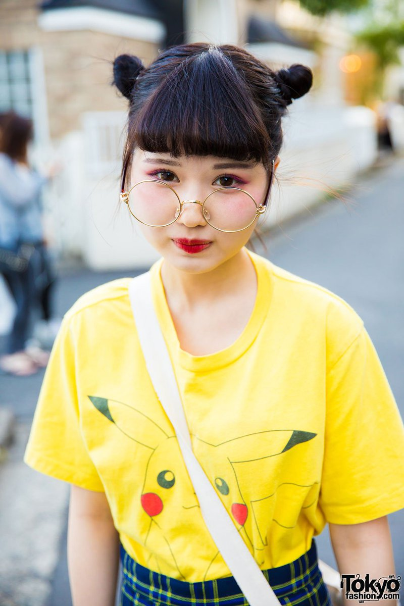 17-year-old Harajuku Girls In Street Styles By Morph8ne