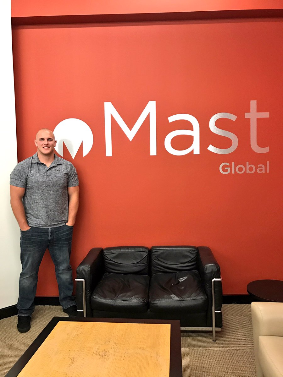 Billy Price at Mast Global