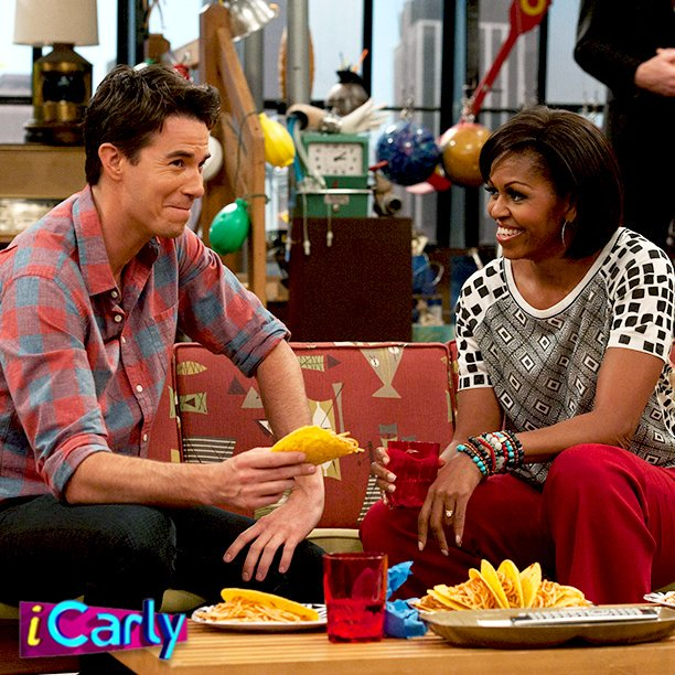 Icarly On Twitter Current Mood Spaghetti Tacos With Michelleobama Tbt