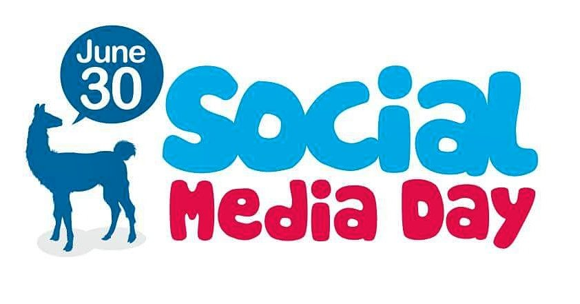 Happy Social Media Day - 30 June  IMAGES, GIF, ANIMATED GIF, WALLPAPER, STICKER FOR WHATSAPP & FACEBOOK