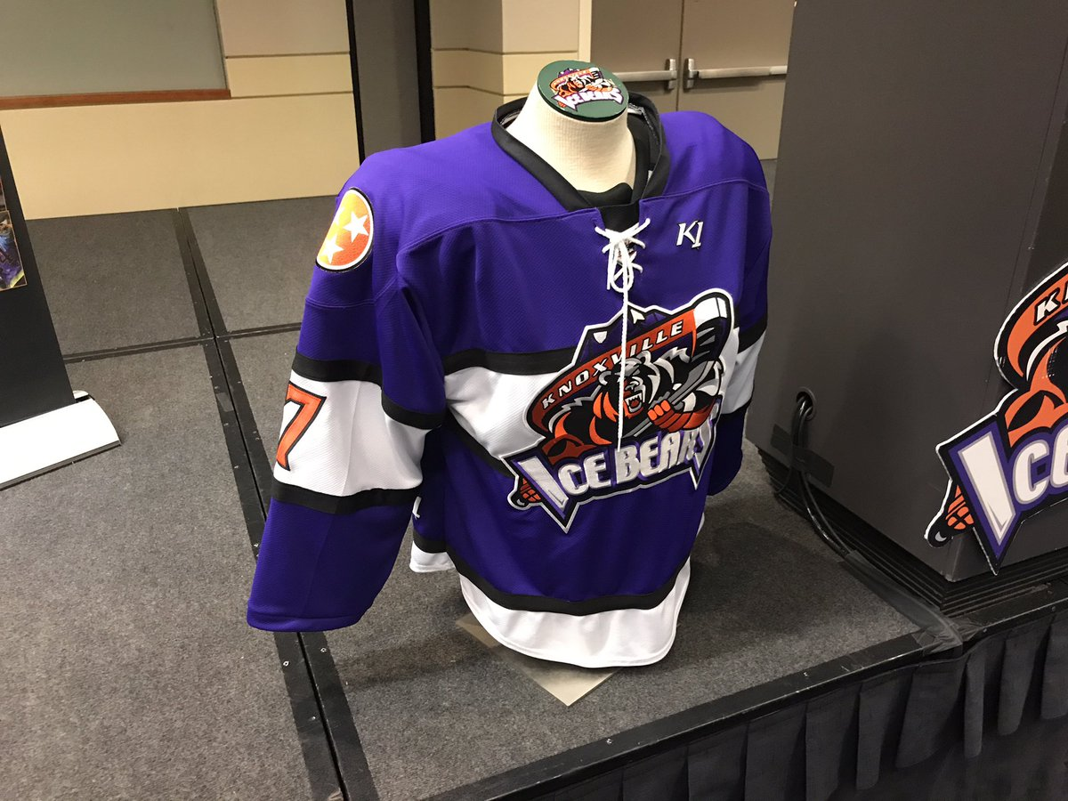 Now onto a lighter topic  The New 17-18 Uniforms... - Knoxville Ice ... 1f13c88e6f5