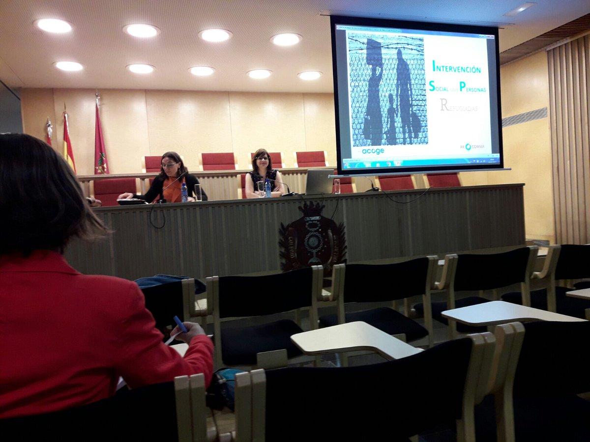 """Procomar Valladolid on Twitter: """"Procomar participa en la formación sobre #refugio organizada por @icavalladolid para l@s abogad@s de #Valladolid ..."""