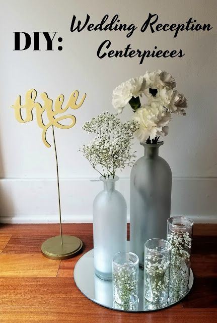 La Vie en May: DIY Wedding Reception Centerpieces