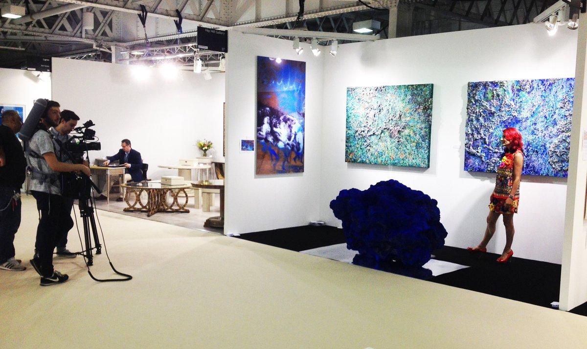 Exhibition Stand Galleries : Hyattchurchill art galleries on twitter