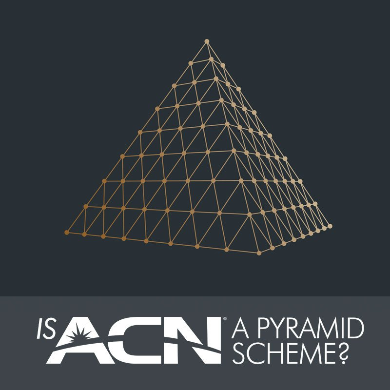 Image result for Is ACN a pyramid scheme