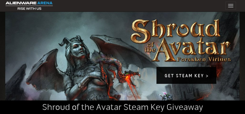 Avatar steam key giveaways