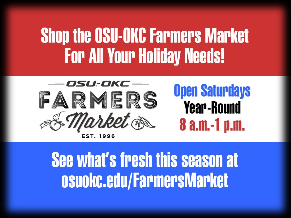 Heading to a cookout this weekend? Shop the @OSUOKCFrmrMrkt first! #eatfresh #eatlocal