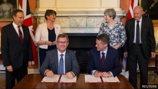 Theresa May's DUP-Tory deal was criticised as 'shabby and reckless' by opposing parties #bbcqt https://t.co/I3BAhfCnhz