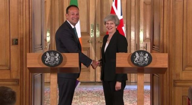 Taoiseach Leo Varadkar said that he was 'reassured' about the DUP-Tory deal #bbcqt https://t.co/rGZxdoYUdp