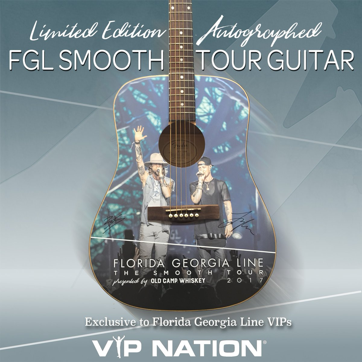 Florida georgia line on twitter limited edition smoothtour guitar florida georgia line on twitter limited edition smoothtour guitar available via vip packageseck out all vip options httpstqp7gehbucf party m4hsunfo