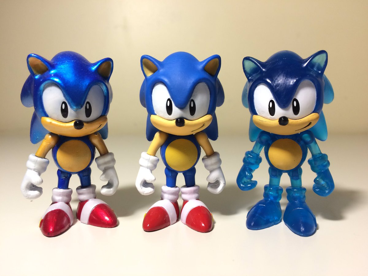 Patmac On Twitter Here Are The Current Three Variants Of Classic Sonic Tails Tomy Has Released