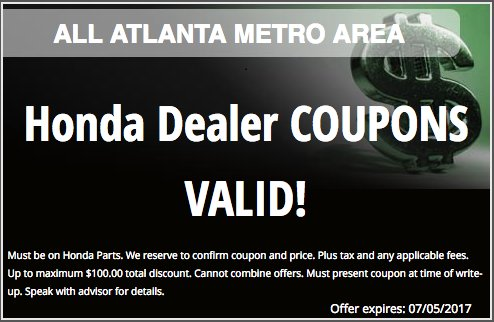 Honda Carland Service >> Honda Carland Coupons Canopy Parking Denver Airport Coupon