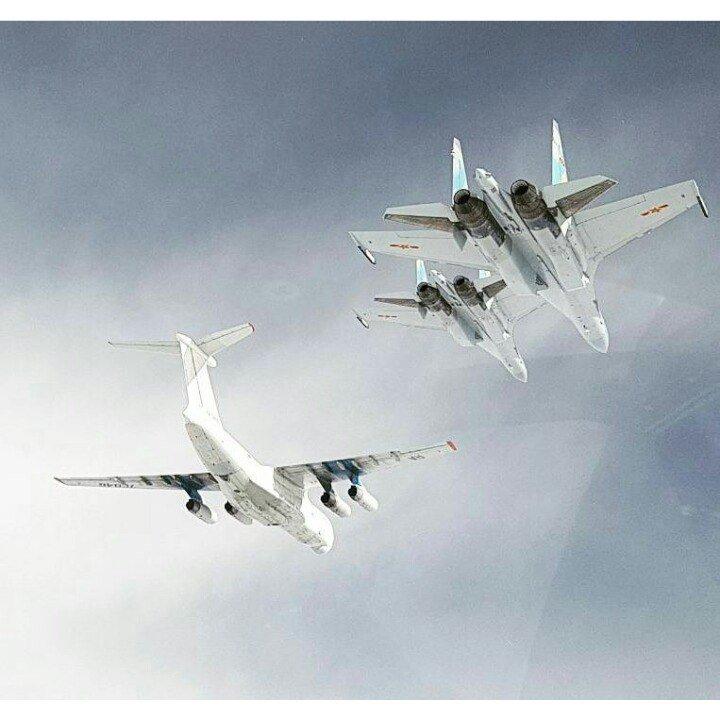 الصين ستتسلم الدفعة الأولى من مقاتلات Sukhoi-35 قبل حلول 25 ديسمبر الجاري وتشمل 4 مقاتلات DDhhx1sXgAEFQQJ