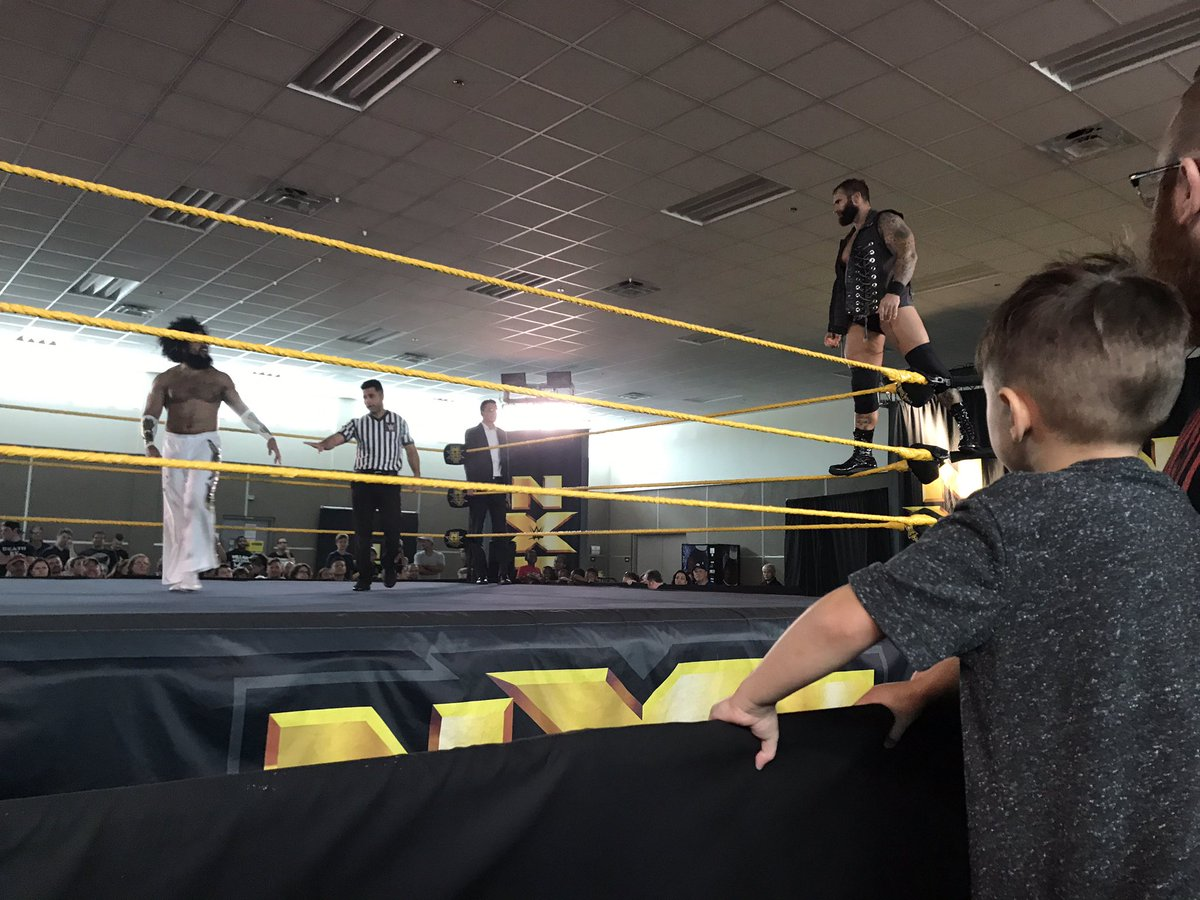 WWE NXT Live Event: No Way Jose vs. Gunner