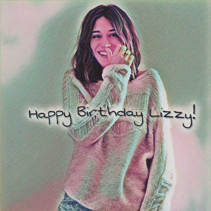 Happy Birthday to the fantastic Lizzy Caplan! Best wishes!