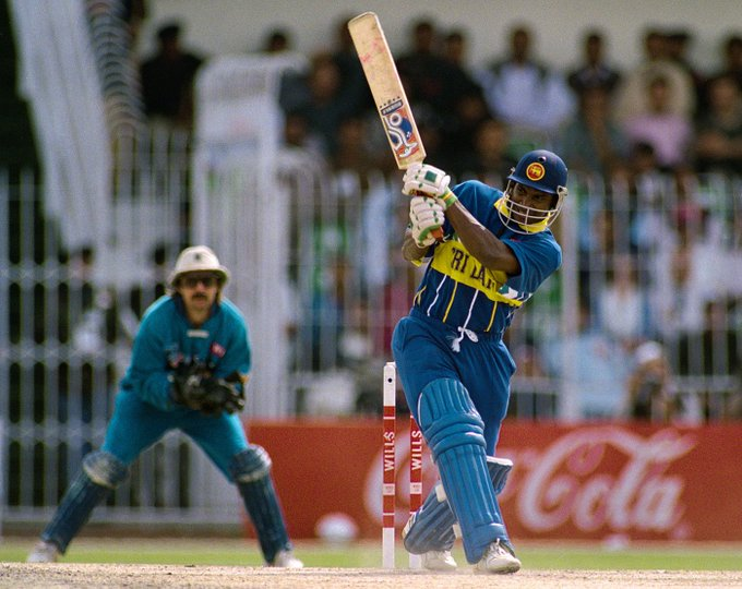 Happy birthday to a man who slashed and burned through bowling attacks, Sanath Jayasuriya!