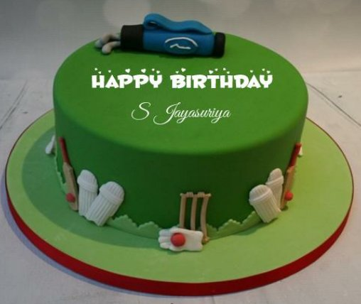 !!!..Happy birthday sanath Jayasuriya..!!!