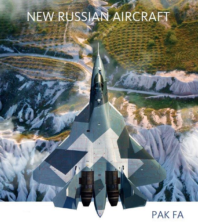 المقاتلة الروسية  T-50 الروبوت الطائر : مقاتلة الجيل الخامس  DDj3W07W0AMtc_7