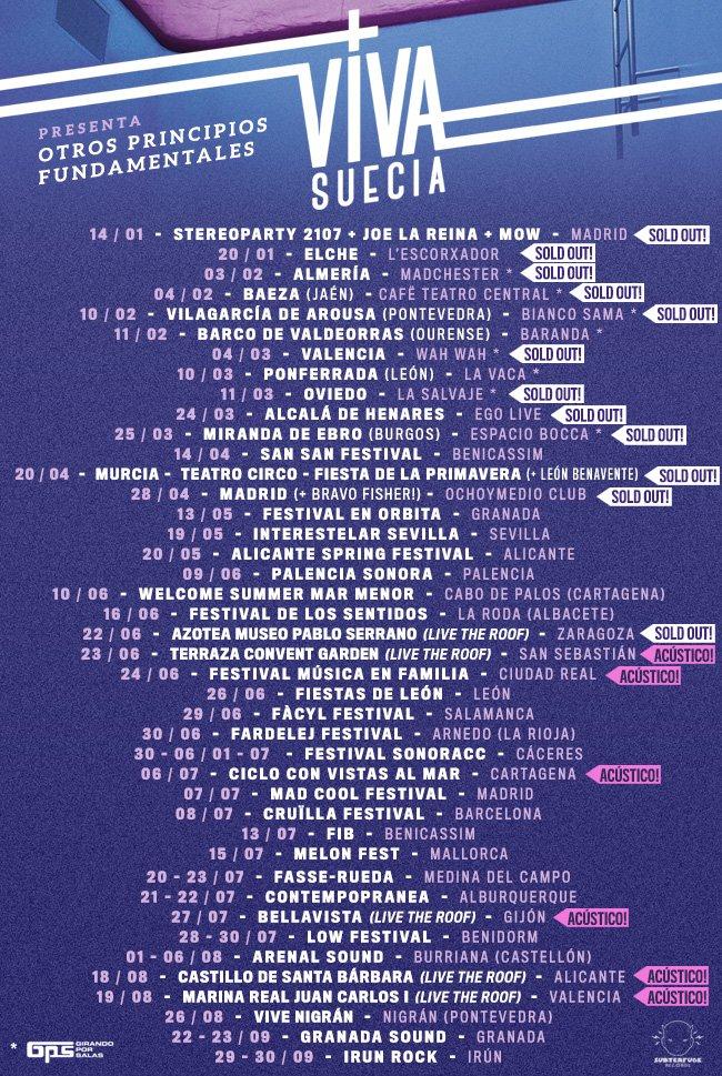 """VIVA SUECIA  """"El Milagro"""" Nuevo disco el 4 de Octubre. - Página 3 DDj3vHKWsAAHrbS"""