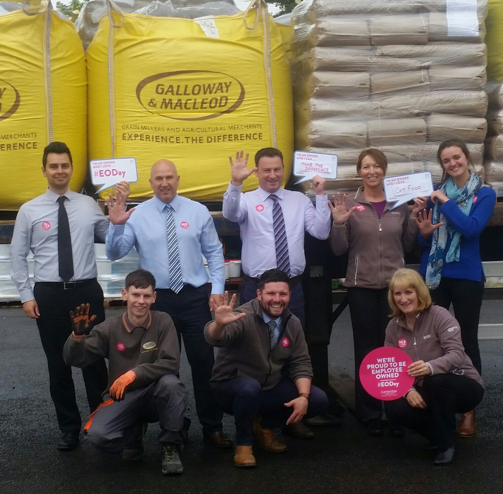 Happy Employee Ownership Day!!!!   Galloway and MacLeod are proud to be #employeeowned   @EmployeeOwned #EODay #Hi5 https://t.co/hPg7ydFB0M