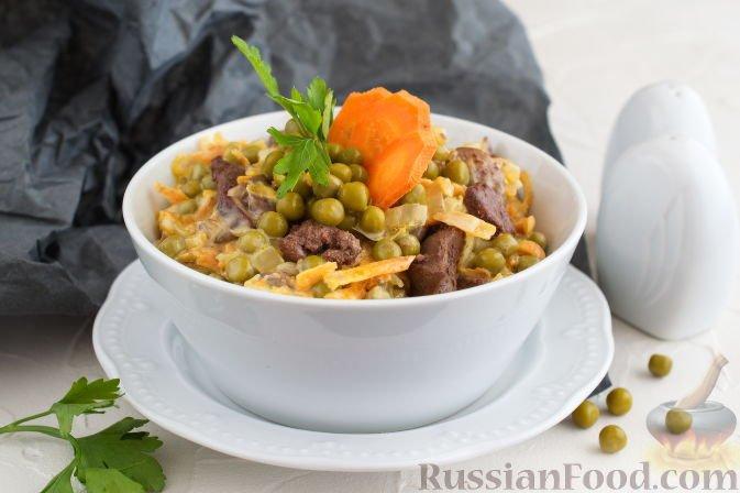 Рецепт салатов с креветками с фото