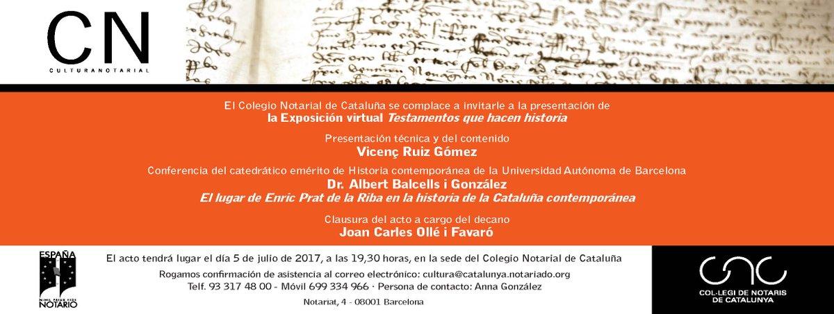 Col legi de notaris colnotaris twitter - Colegio de notarios de barcelona ...
