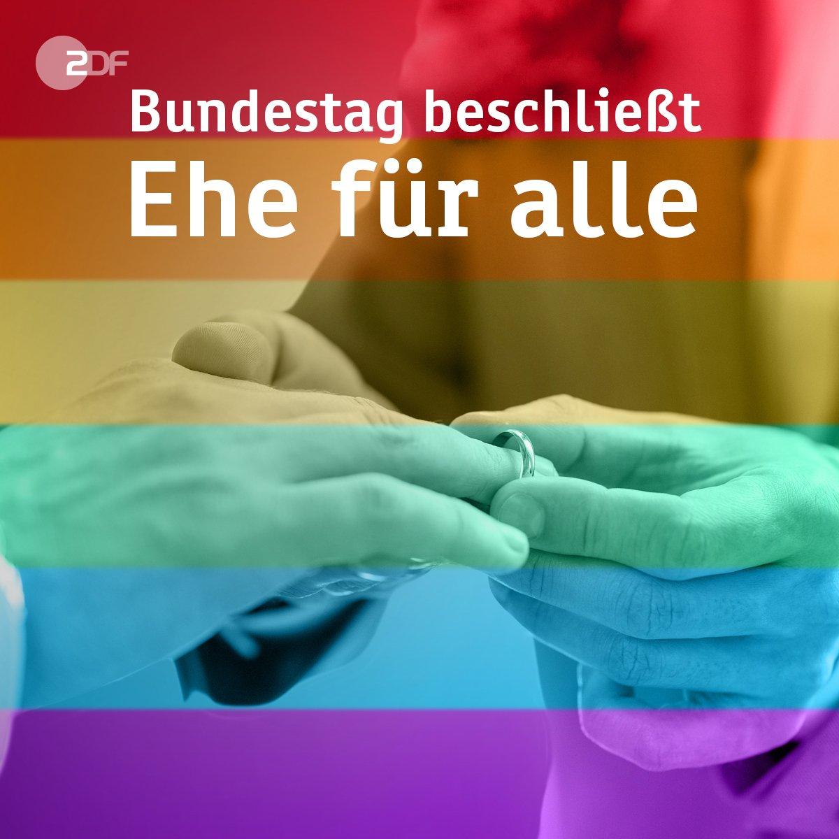 #Ehefueralle: Historische Entscheidung im #Bundestag: