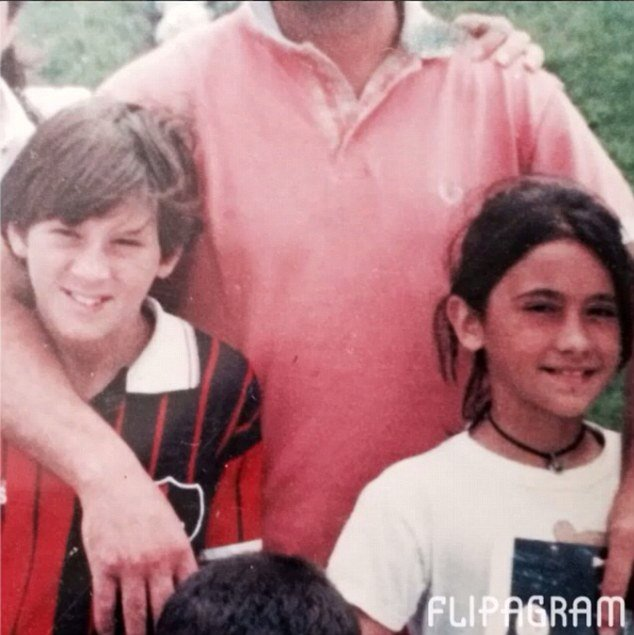 """Leo Messi 🔟 on Twitter: """"Leo Messi's childhood friends say """"Leo's face  would change when she was around and that he used to write letters to her.""""  #WeAreMessi… https://t.co/uBZ8GlA6iS"""""""