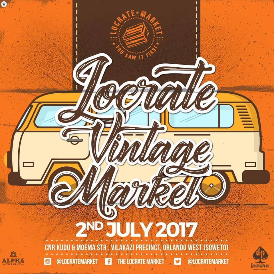 Join us this Sunday, 2 July, at @LocrateMarket for #LoCrateVintage. Food, fashion, and everything vintage! #LoCrateWeekend