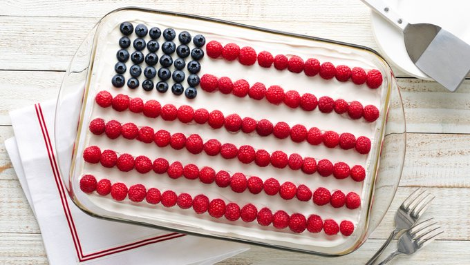 10 Best Red, White and Blue Desserts