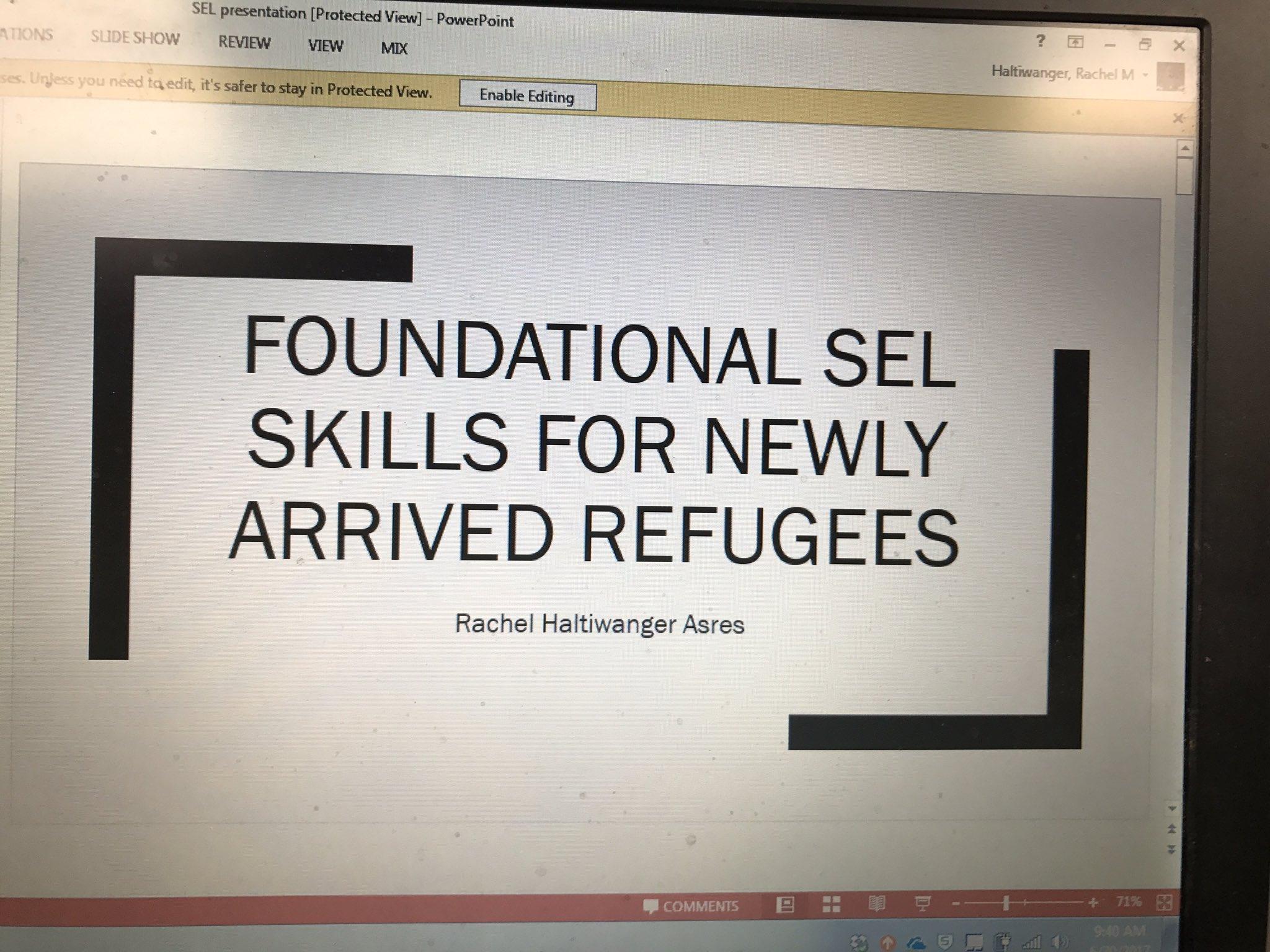 Come join me at 10:15 or 1:45 to hear about the SEL work we've been doing in SIFE this year! #SELconference https://t.co/5vOvpyQQXd