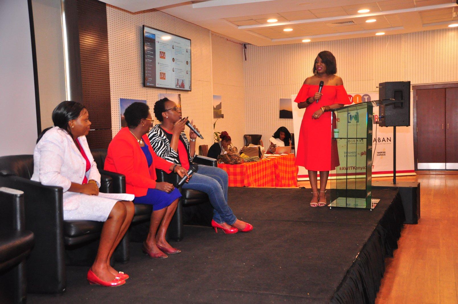 Wisdom never grows old #AWITkenya2017 Conference Happening Now @SafaricomLtd  #WomenInTech #day2  #Africa #Kenya Photo Courtesy: @ianYatich https://t.co/6VeNJrv9YX