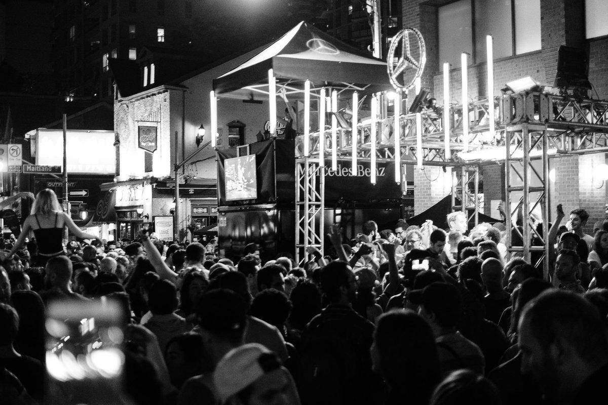 That crowd from @PrideToronto last weekend around my booth..wow. https://t.co/oTlRgGBVU4
