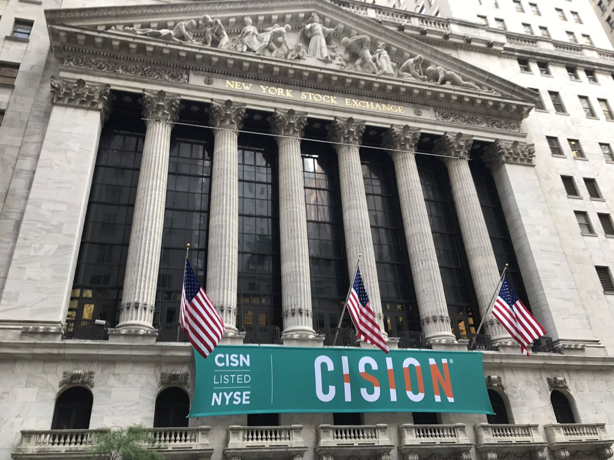 Today's the day! @NYSE https://t.co/cv8XtxTdM2