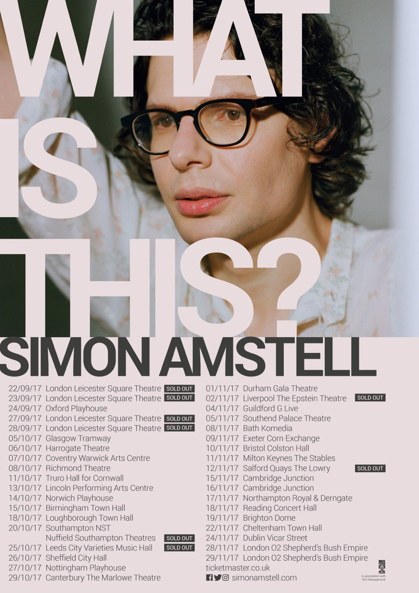Simon Amstell Tour Support