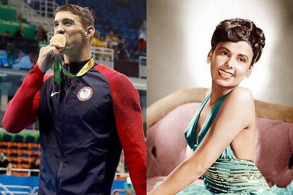 June 30: Happy Birthday Michael Phelps and LenaHorne
