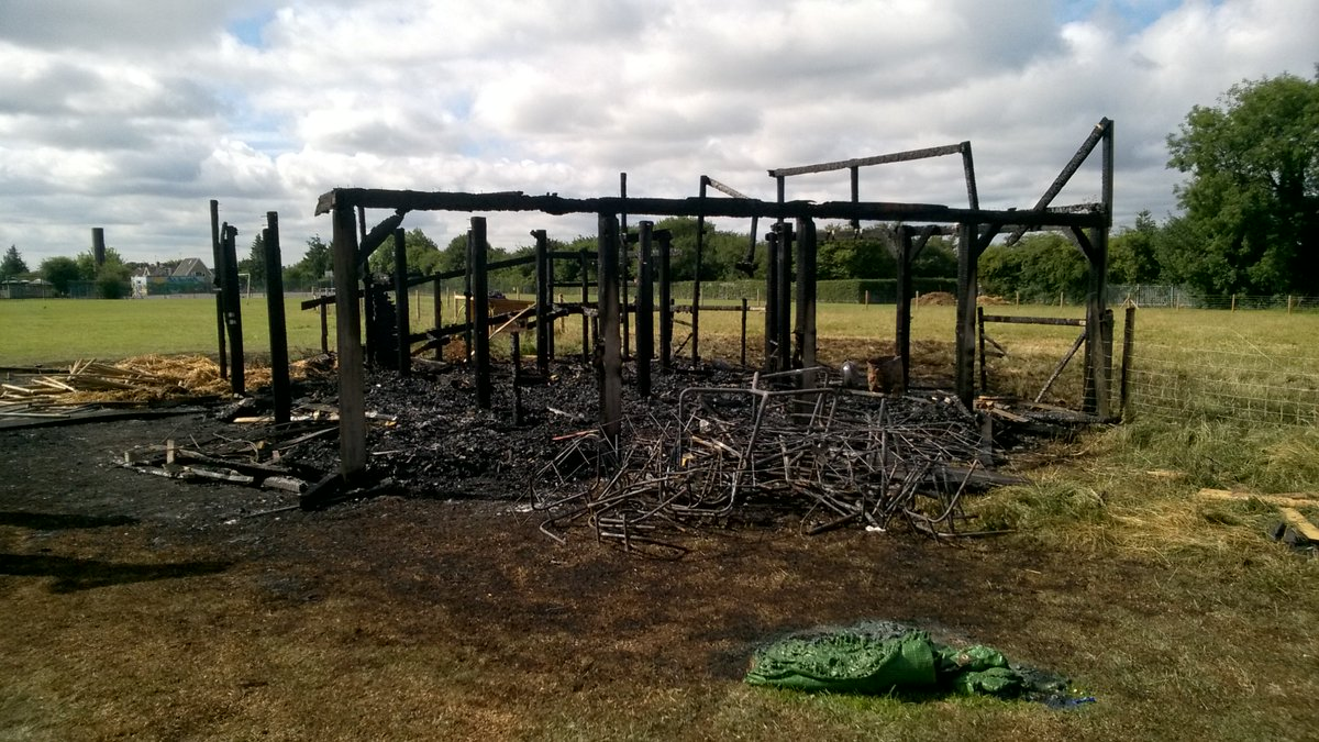 St Luke's School in Redbourn Burnt Down