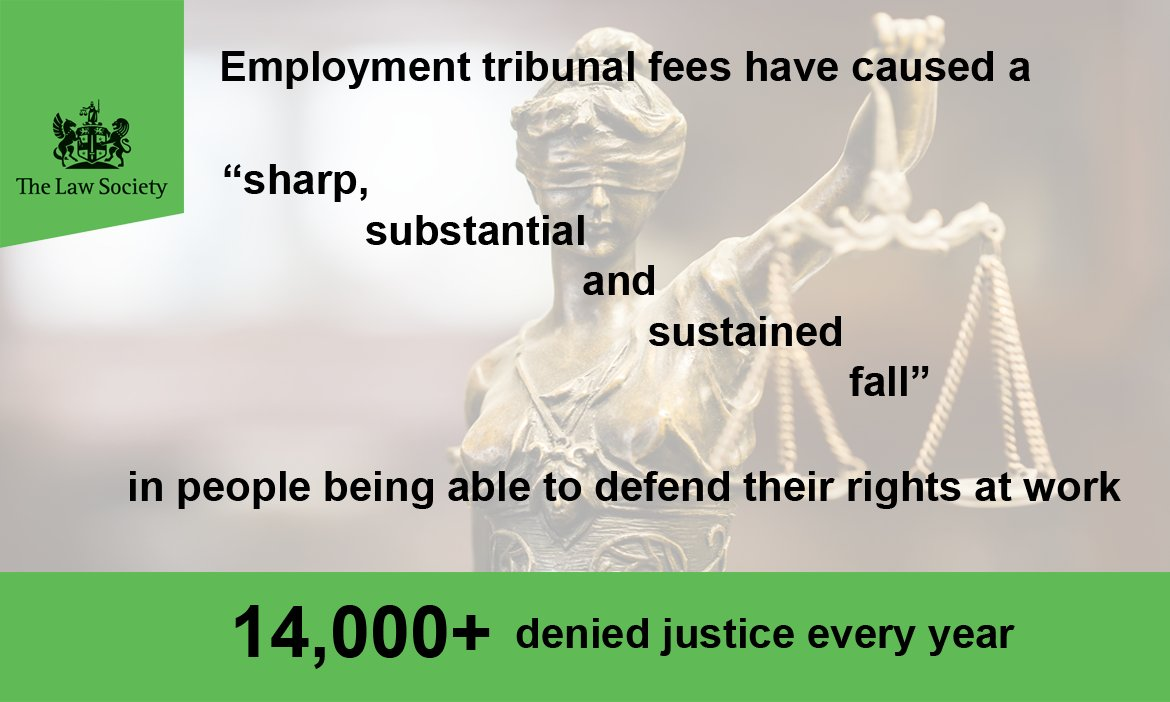 Employment tribunal fees are preventing people defending their workplace rights #ukemplaw https://t.co/ws05I1mqFk https://t.co/HaXzk1yko1