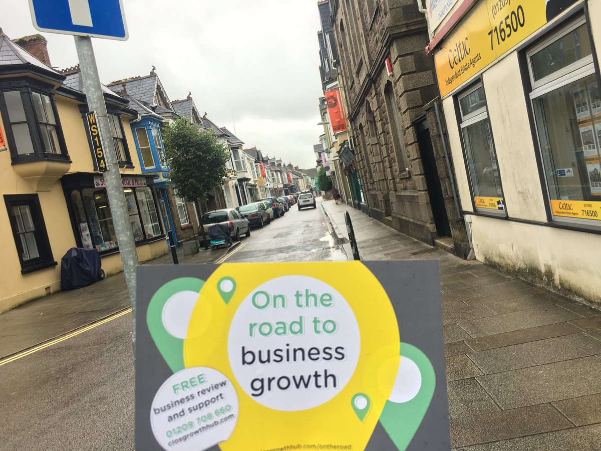 Talking to small businesses in Camborne about free support #TownTakeover <br>http://pic.twitter.com/r251HfT746