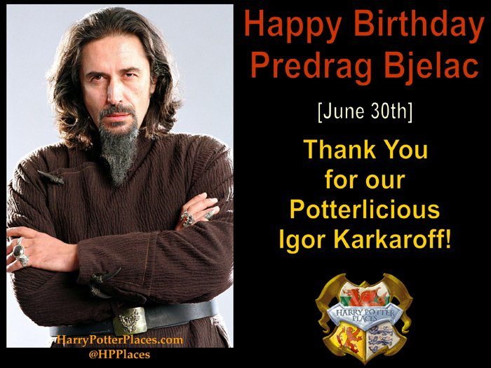 Harry Potter Places On Twitter Happy Harrypotter Birthday To Predrag Bjelac Durmstrang Headmaster One Time Death Eater Igor Karkaroff Pedragbjelac Https T Co 0ay82dpm0z This is a roleplaying experience, it goes along with two other schools which i will introduce later on. twitter