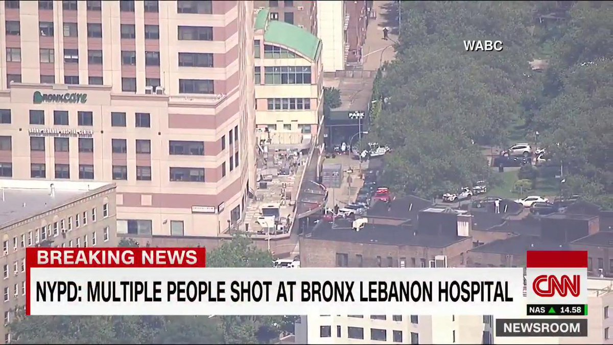 BREAKING: Multiple people shot at Bronx Lebanon Hospital in New York City, NYPD says https://t.co/VMIfRxCsfR
