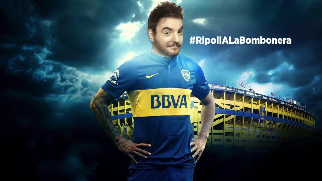 El unico HT que me interesa es #RipollAlaBombonera - Ayudanos a que Diego conduzca los eventos en la Bombonera! https://t.co/ImqmzHfjay