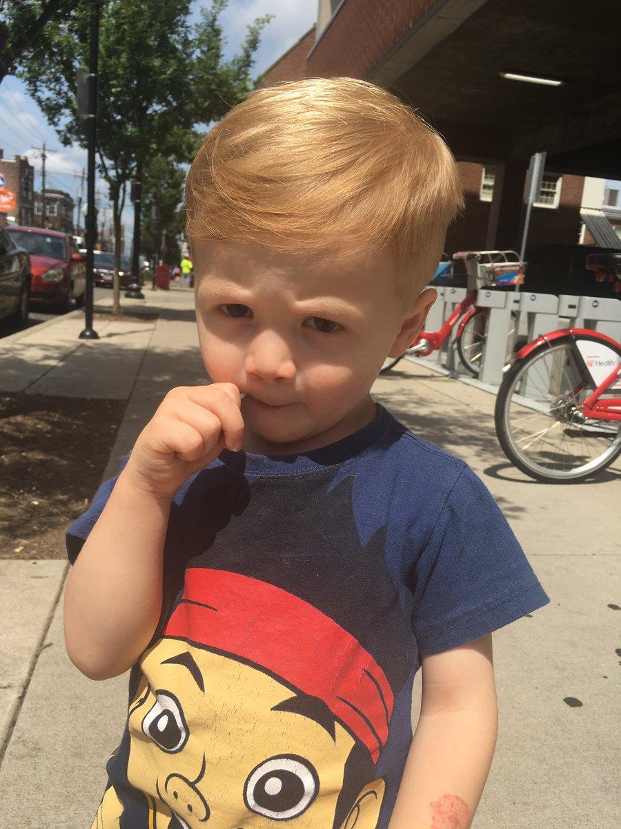 Dan Pierson On Twitter Noah Got His First Big Boy Haircut