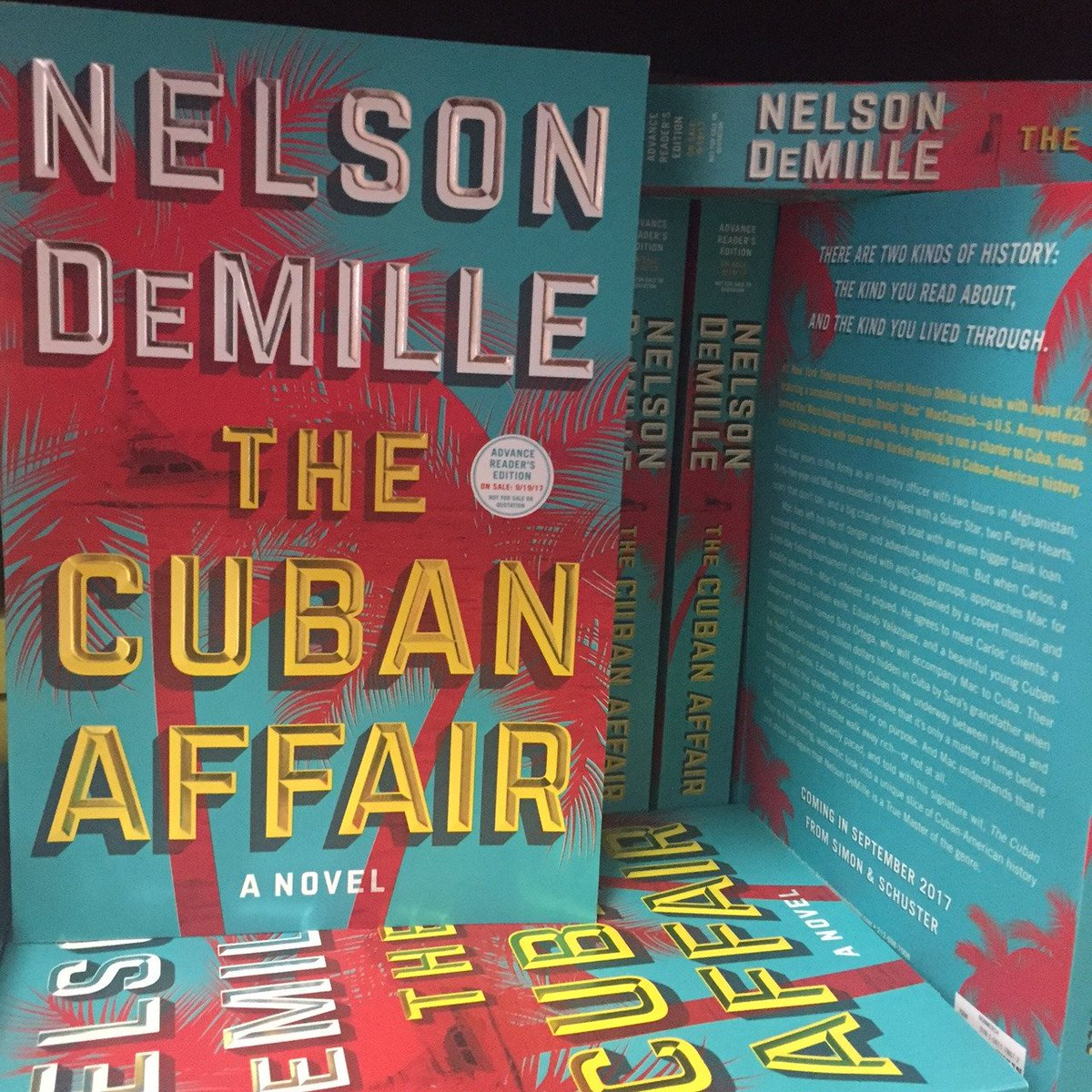 "Nelson DeMille on Twitter: ""Explore Cuba for yourself with my new novel, THE  CUBAN AFFAIR coming this Fall. Pre-order today: https://t.co/EKsNhAfGD8."
