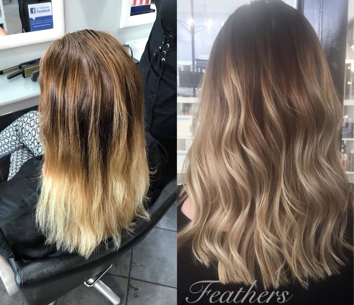 Feathers On Twitter From Grown Out Ombre To Soft Subtle Balayage By Annabel In Our Braintree Salon Created With Colour Sensus And Styled