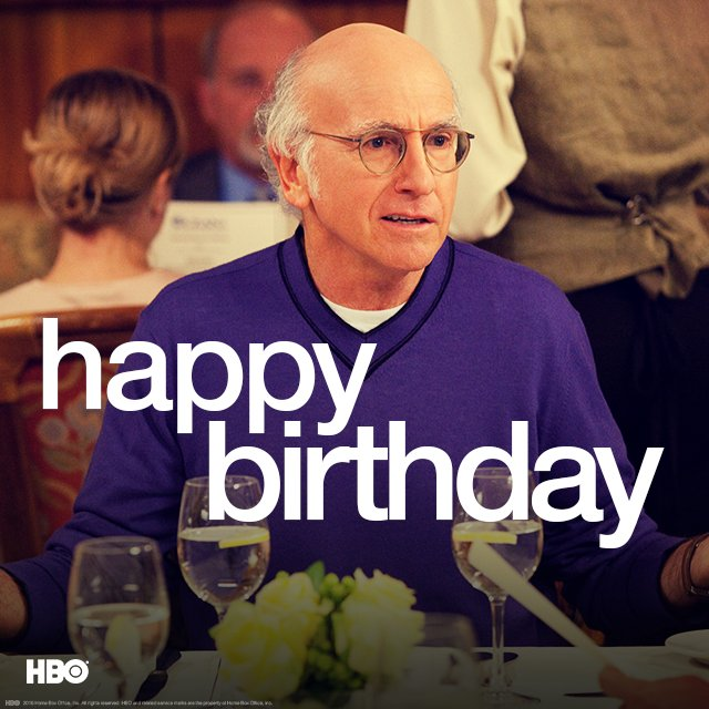 Happy birthday to the King of comedy, #LarryDavid. #CurbYourEnthusiasm https://t.co/WiGOOrGPXa